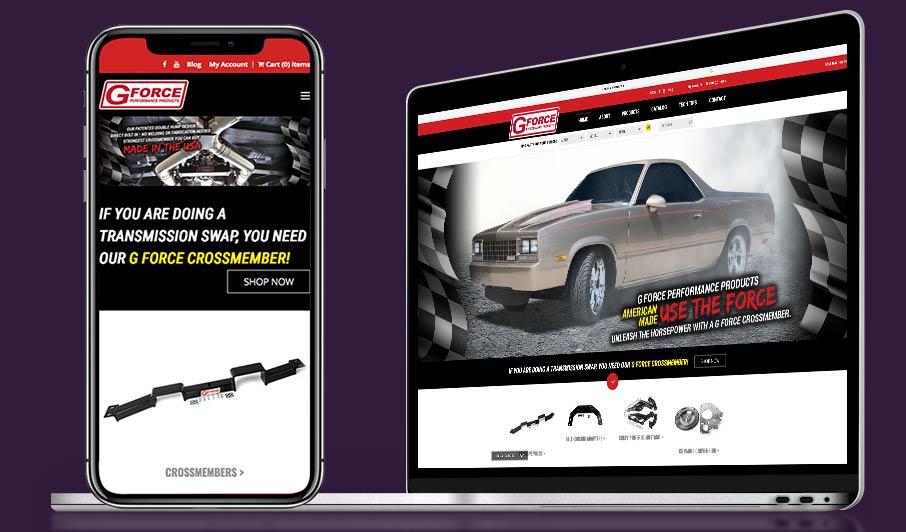 ecommerce web design cleveland