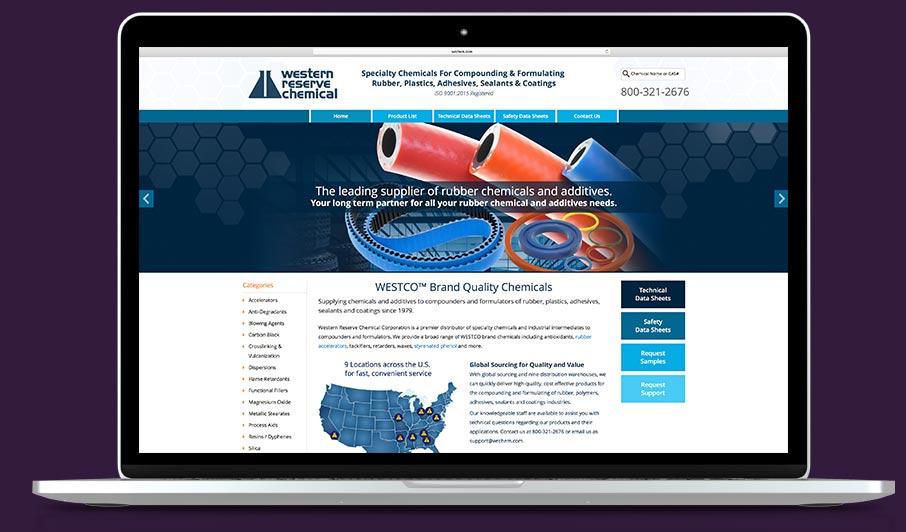 industrial website design Cleveland