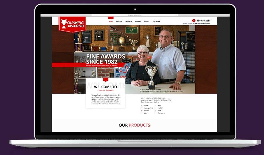 retail web design Cleveland Ohio