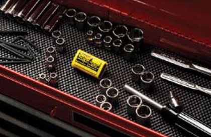 Tool box drawer liner from Zerust Consumer Products | Rust & Corrosion Prevention Products