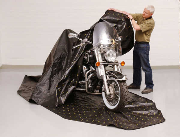 Zip Up Motorcycle Cover | Zerust Consumer Products