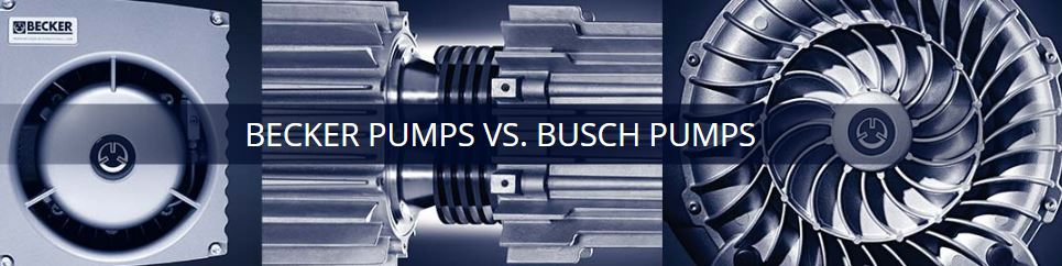 Becker Pumps vs. Busch Pumps