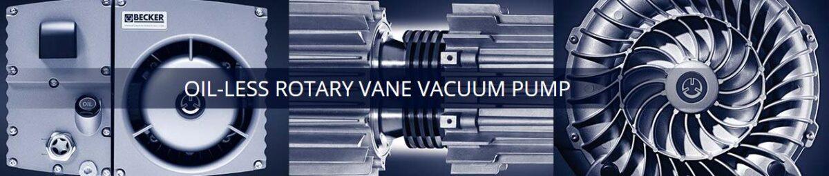 Becker Pumps Rotary Vane Vacuum Pumps