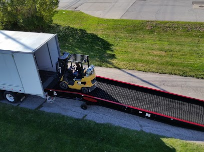 Loading Ramps For Semi Truck & Trailer Use