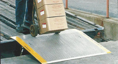 Where To Purchase A Portable Ramp Aluminum Dock Plate manufactured by Copperloy