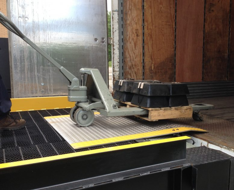 Mobile Dock Plate From Copperloy by JH Industries