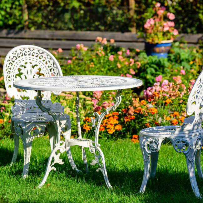 patio set rust proof spray for outdoor furniture
